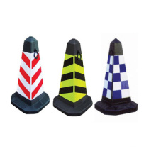Hot Sale Professional Industrial Rubber Flexible Roadway Traffic Cones