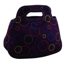 Neoprene Lunch Bag, Keeping Warmth and Convenient Carrying Handle, Different Patterns are Available