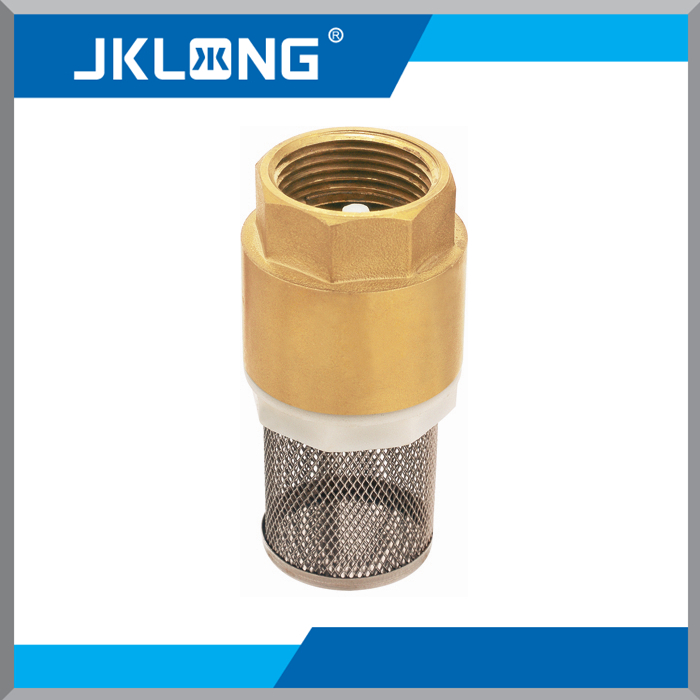 Vertical Brass Check Valve, Inside Thread