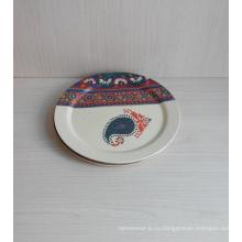 (BC-P1020) Естественная Bamboo Fiber Biodegradable Tableware Plate