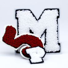 Wholesale Custom Logo Embroidery Badge Chenille Patches for Clothing