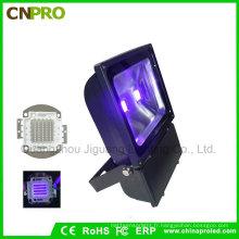 Lumière d'inondation UV industrielle de 100W de LED avec 385nm à 400nm