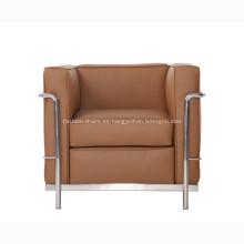 Reproducción de sofá de cuero Le Corbusier LC2