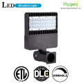 DLC listed IP65 150W LED Shoebox Pole Lights