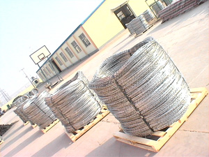 Concertina Single Razor wire