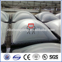 cubierta antideslizante de techo de claraboya de policarbonato