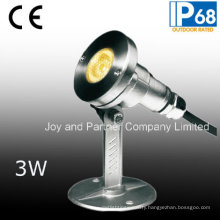 Stainless Steel 3W LED Underwater Spotlight (JP95312)