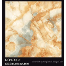 Alta qualidade 60X60 Beautiful 3D Porcelain Glazed Carpet Tile