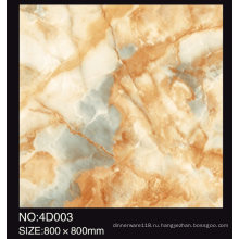 Высокое качество 60х60 красивые 3D фарфор застекленная плитка ковер