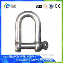 Heavy duty shackle ring