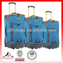 Заднее колесо грузовой чемодан чемодан тележка Сумка reisetrolley,2 случае колеса тележки новый-HCTR0002