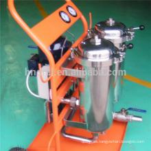 Carro del filtro de la serie LYC-B del aceite del filtro Carritos de filtro de aceite de deshidratación de coalescencia