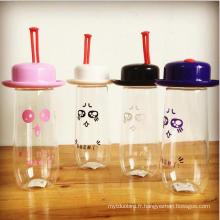 Bouteille d'eau mignonne pour bébé en plastique