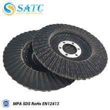 disco de aleta de carburo de silicio para lijadora de banda para esmerilar