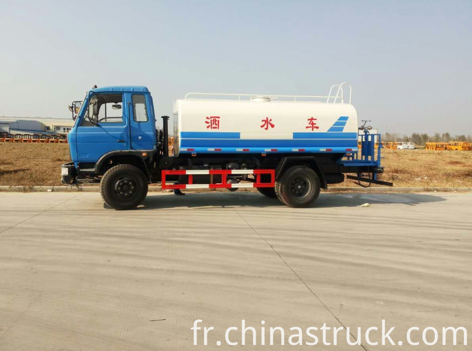 10CBM water pump truck