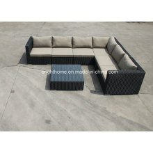 Patio Outdoor Rattan Garden Sofa Set