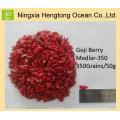 Fruta saludable 100% Natural Ningxia Goji Berry