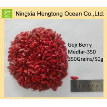 Fruta saludable 100% Natural Ningxia Goji Berry