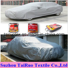 Car Cover of 100% Poly 190t Silver Coated Fabric