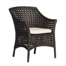 Jardim ao ar livre do Rattan da mobília Vime conjunto cadeira