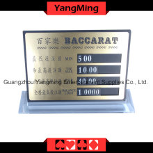 High-Grade Pure Copper Entertainment Bet Card (YM-LC04)
