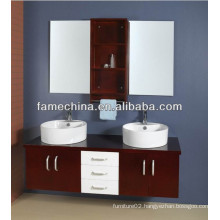 Double Sink Hot Style Solid Wood Bathroom Cabinet