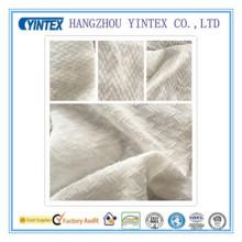 """Tissu en mousseline jacquard 100% polyester fait à la main, 57 """", 75 * 75 * / 88 * 73"""