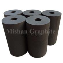 Углеродистые круглые блоки из необработанного графита