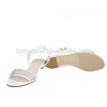 2015 New Design shiny fashion ladies sandals