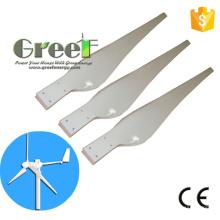 Láminas de turbina de viento para el uso de generador de viento