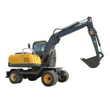 Máquina excavadora de ruedas hidráulicas