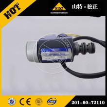 PC60-7 solenoid valve 201-60-72110 Komatsu excavator parts