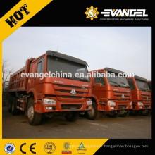 336HP camion à benne basculante droit d'entraînement de Sinotruk Howo à vendre