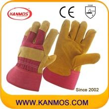 Industriesicherheit Kuh Split Leder Palme Handschuhe (110111)