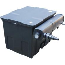 Seau de filtre d'équipement de filtre d'étang avec la lampe UV