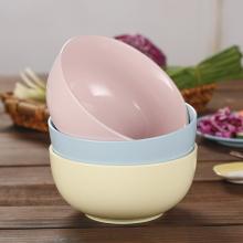 Antique Ceramics Colorful Salad Dessert Bowl