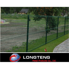 70X150mm Green PVC Coated Welded Mesh Fence