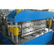 15.0KW und 19 Stationen Metall-Doppelschicht-Umformmaschine mit Produkt-Fliesen- und Wandplattenprofilen