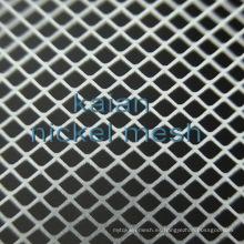 Niquel Malla / Níquel Pantalla / Niza Mesh de alambre en tipo tejido de tipo expandido para química / electrón / batería / electrodo