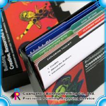tarjetas de papel que imprimen la tarjeta de papel dura tarjeta que juega el papel