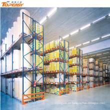 almacén metálico de la capa del polvo estante de las mercancías del almacenamiento