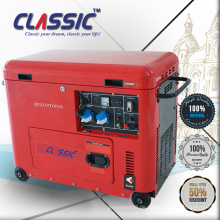 CLASSIC (CHINA) 5KW 5Kva Diesel Generator Preis Portable Mit Rädern, 5Kva Silent Diesel Generator In Indien