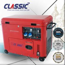 GENERADOR DIESEL CLASICO (CHINA) 5KVA 5KVA Precio Portable con Ruedas, Generador Diesel Silencioso 5Kva en India