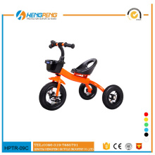 Environmental-friendly material child carrier tricycle
