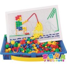 Brinquedo JINGQI brinquedo cogumelos pregos bloco de construção magnética para crianças