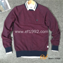 Basic Style Jacquard sweater for Men