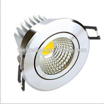 Downlight évite gradable, LED COB de haute qualité Downlight