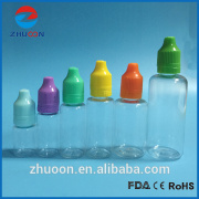 PET e liquid Plastic Dropper Bottles 5ml 10ml 15ml 20ml 30ml 50ml