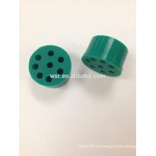 Conector de cable de goma de silicona OEM pequeño