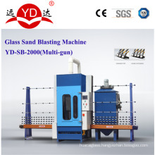 1.5/2/2.5m Automatic Glass Sandblasting Machine